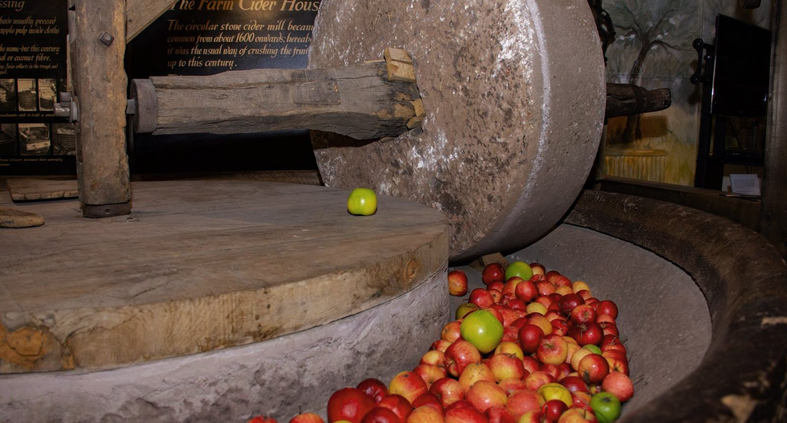 The Museum of Cider is in the original 1888 Bulmer's cider factory