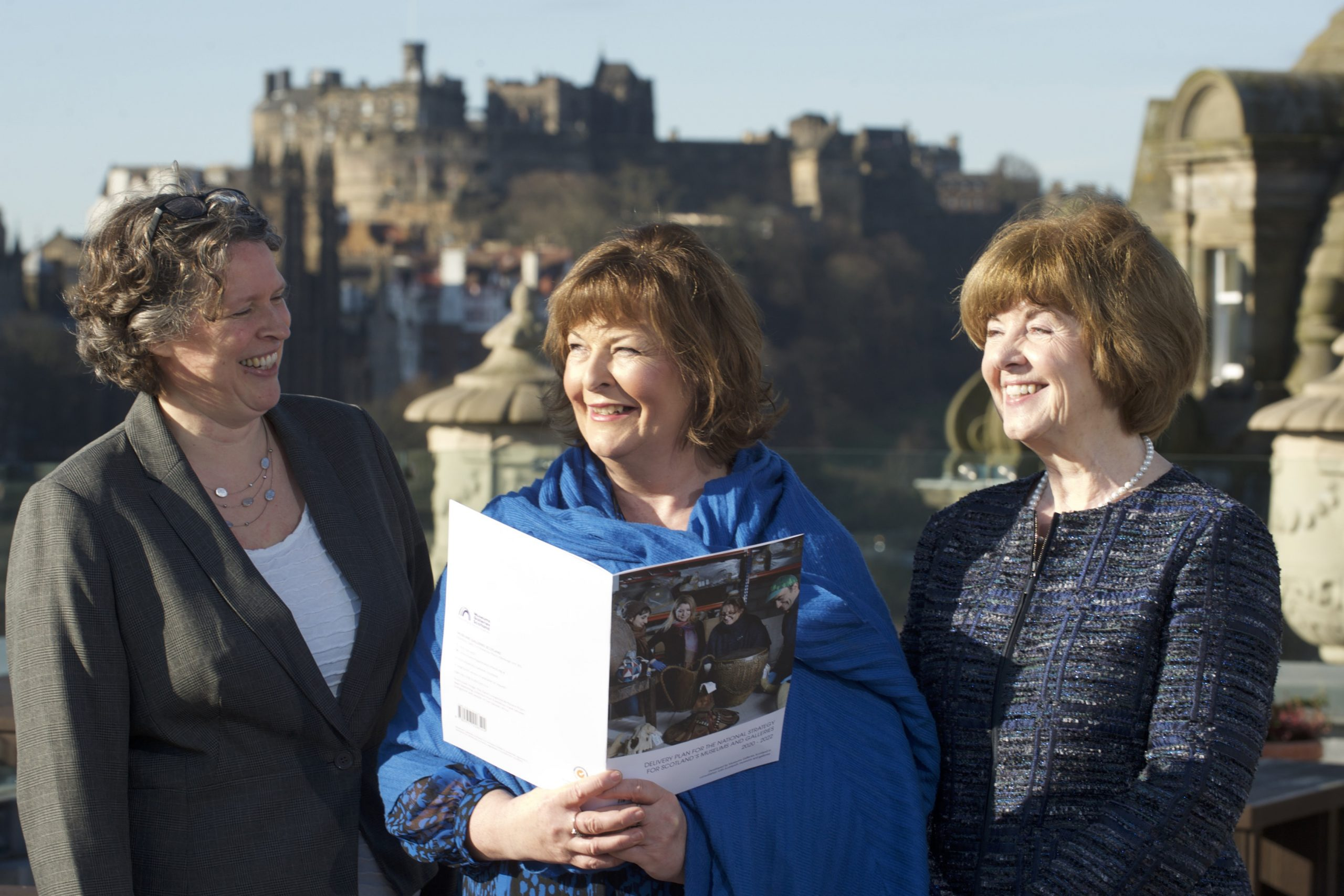 Lucy Casot, Fiona Hyslop and Ray Macfarlane