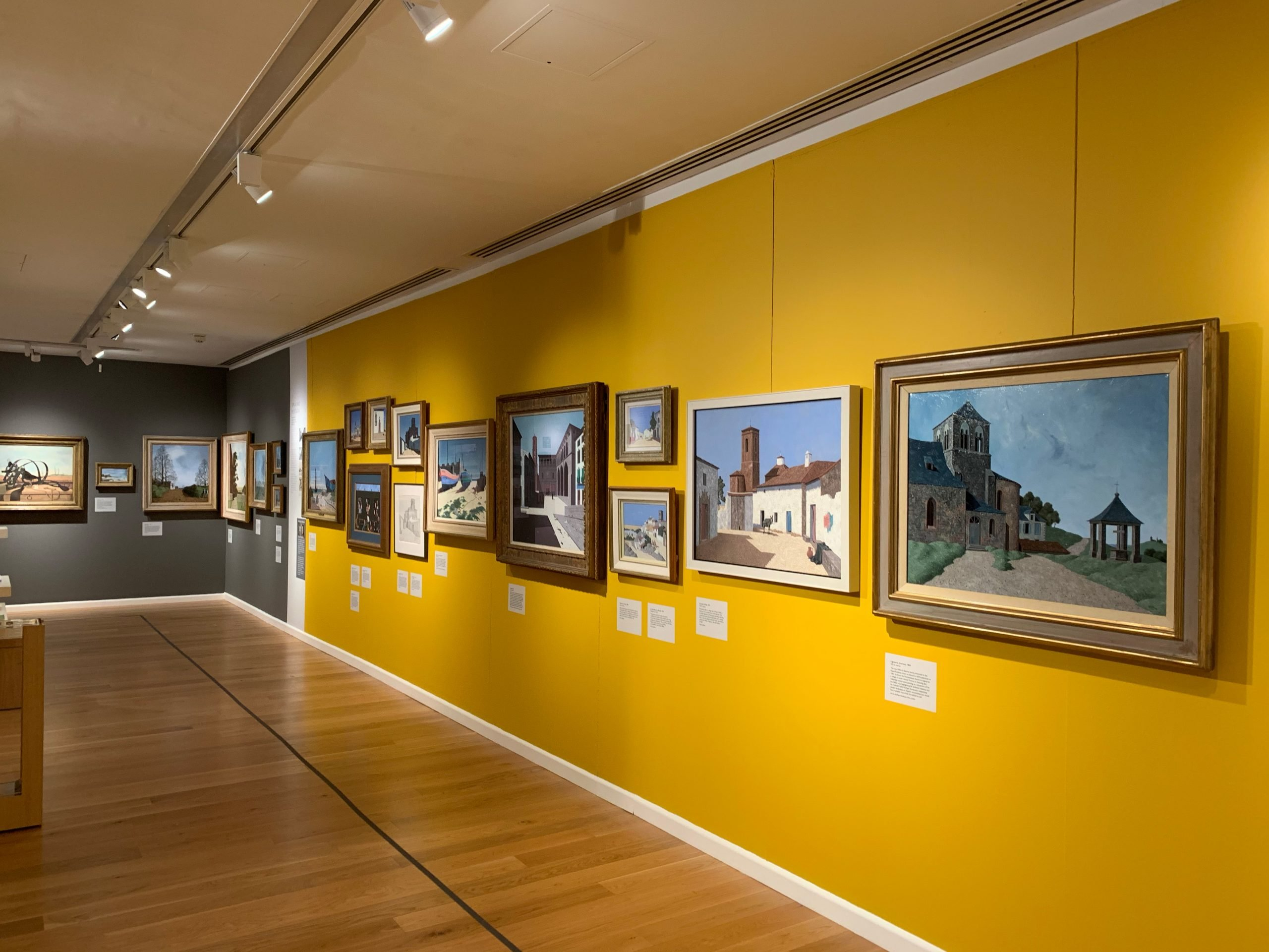 The Tristram Hillier exhibition at the Museum of Somerset
