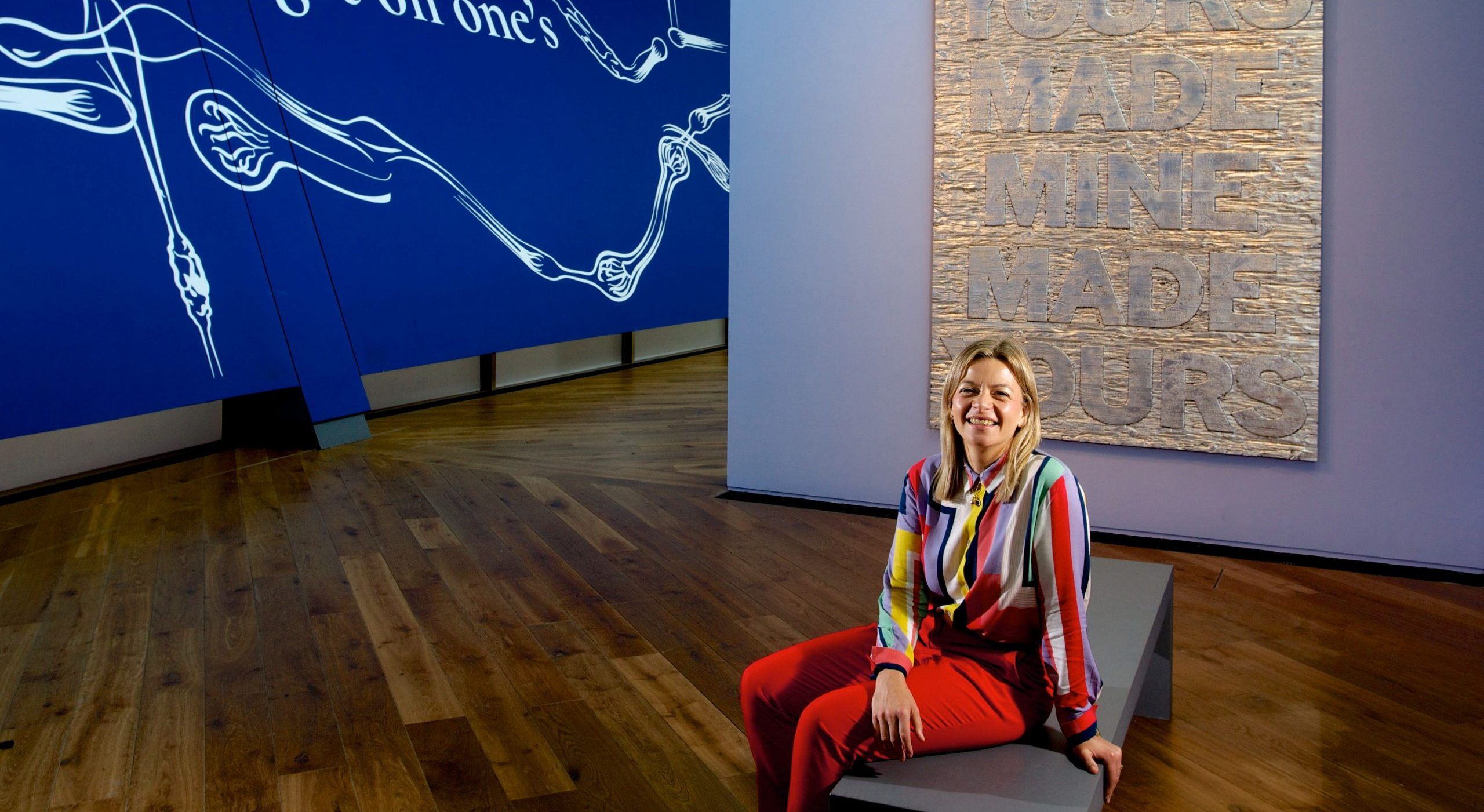 Sally Shaw has been at Firstsite since 2016