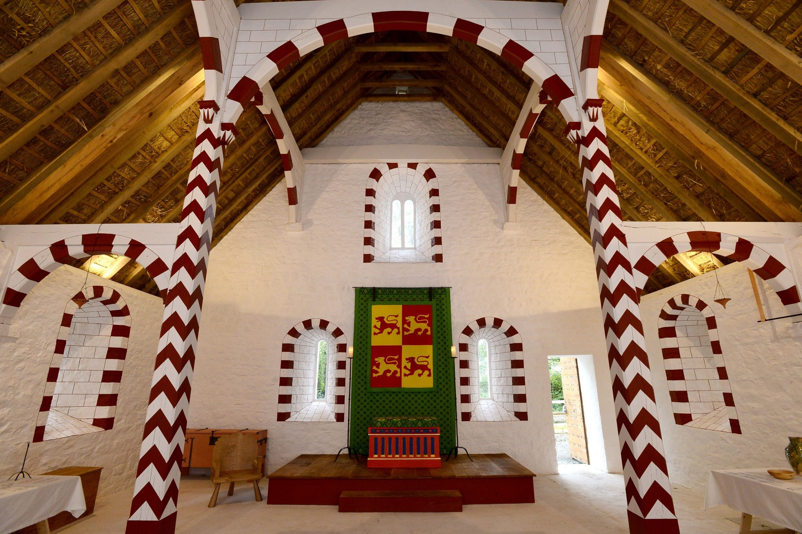 Llys Llywelyn, a recreated 13th-century hall in St Fagan's Museum, which won lat year's Art Fund Prize