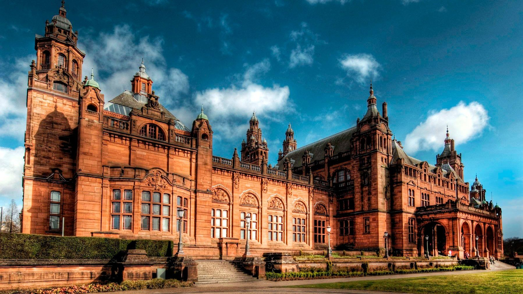 Kelvingrove Museum in Glasgow. Public buildings including museums will be allowed to open from 26 April