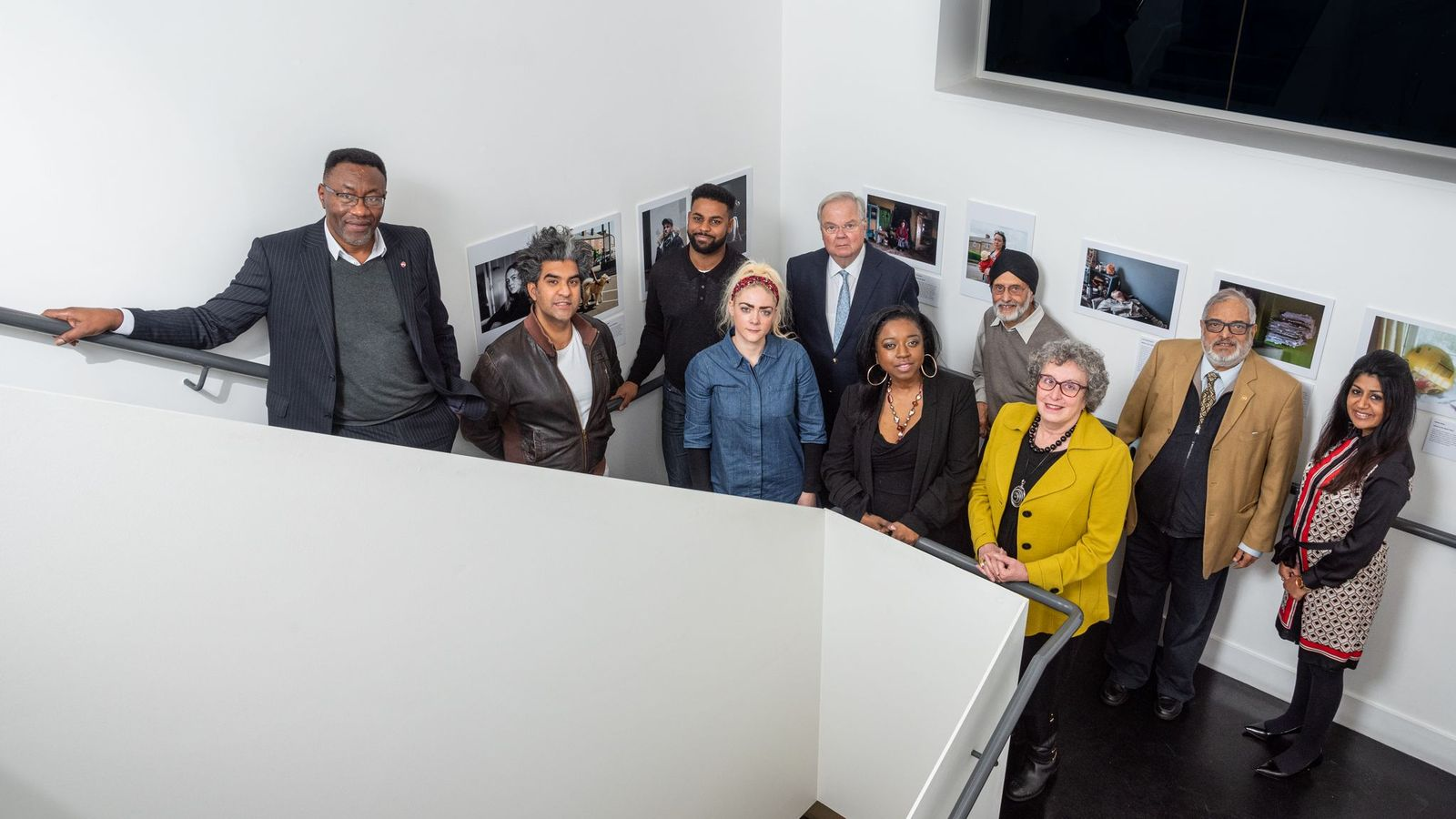 Trustees of the New Art Exchange in Nottingham. The organsation's goal is for two-thirds of its board to represent BAME communities