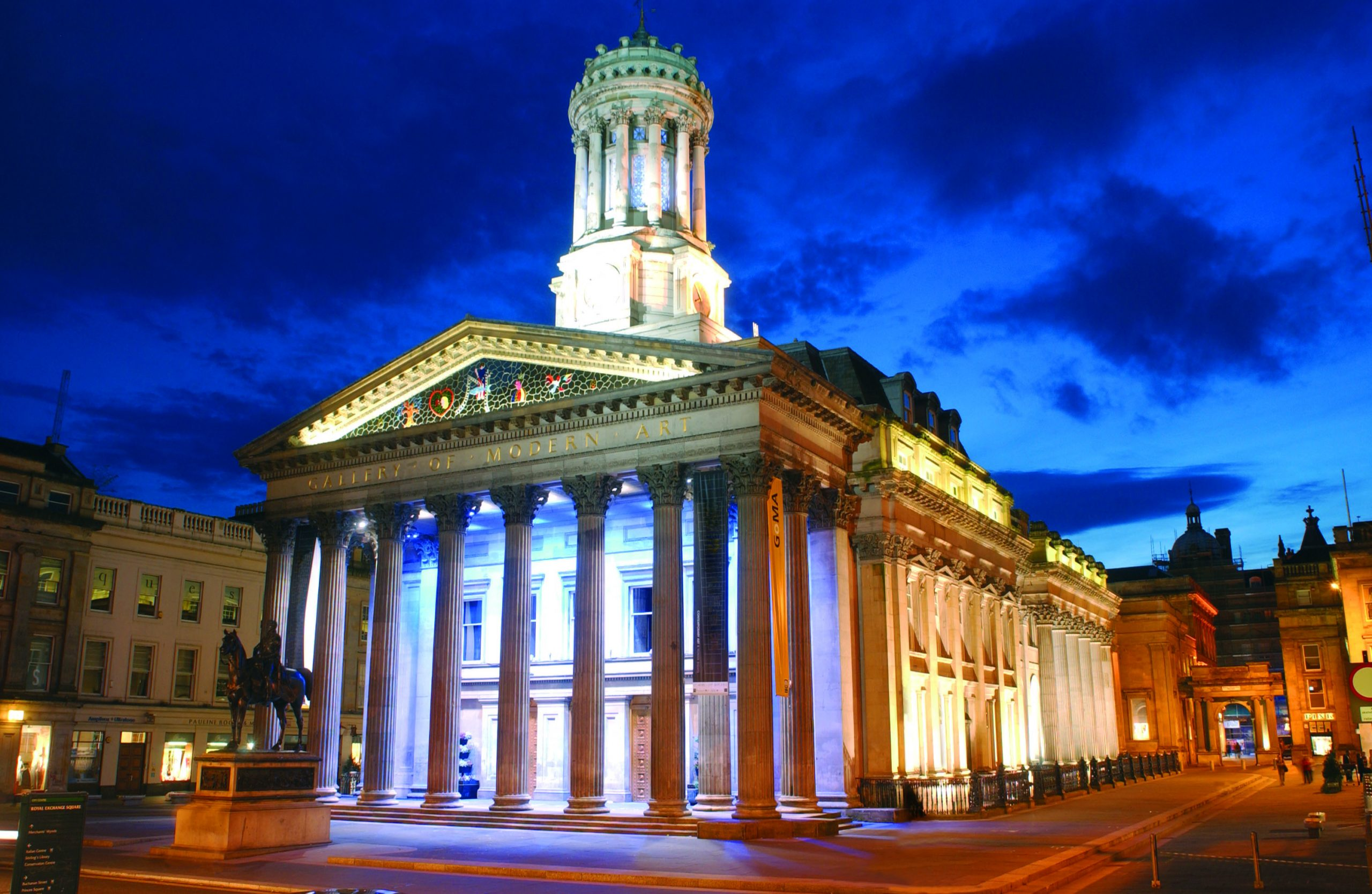 Glasgow's Gallery of Modern Art (Goma) is one of the sites run by Glasgow Life
