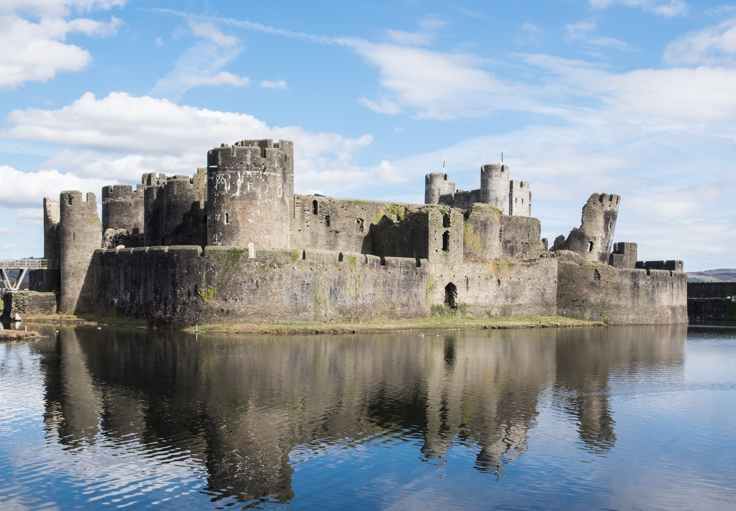 Caerphilly Castle is one of several venues that have closed