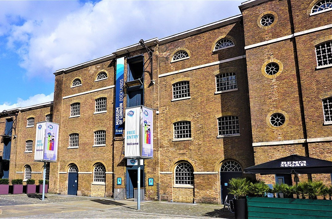 The Museum of London Docklands was the site of the protest in January