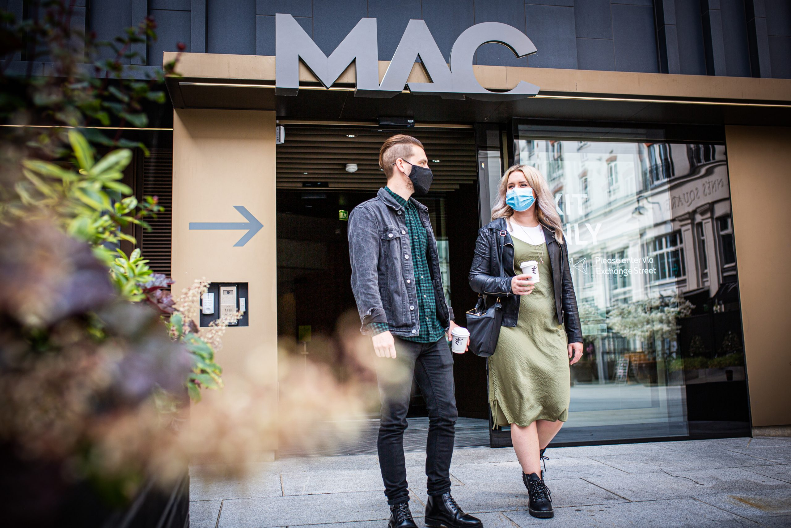 The MAC arts centre in Belfast has reopened its three galleries