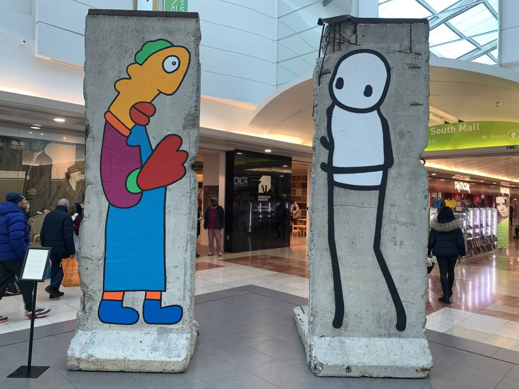 Migration Museum Project at Lewisham Shopping Centre