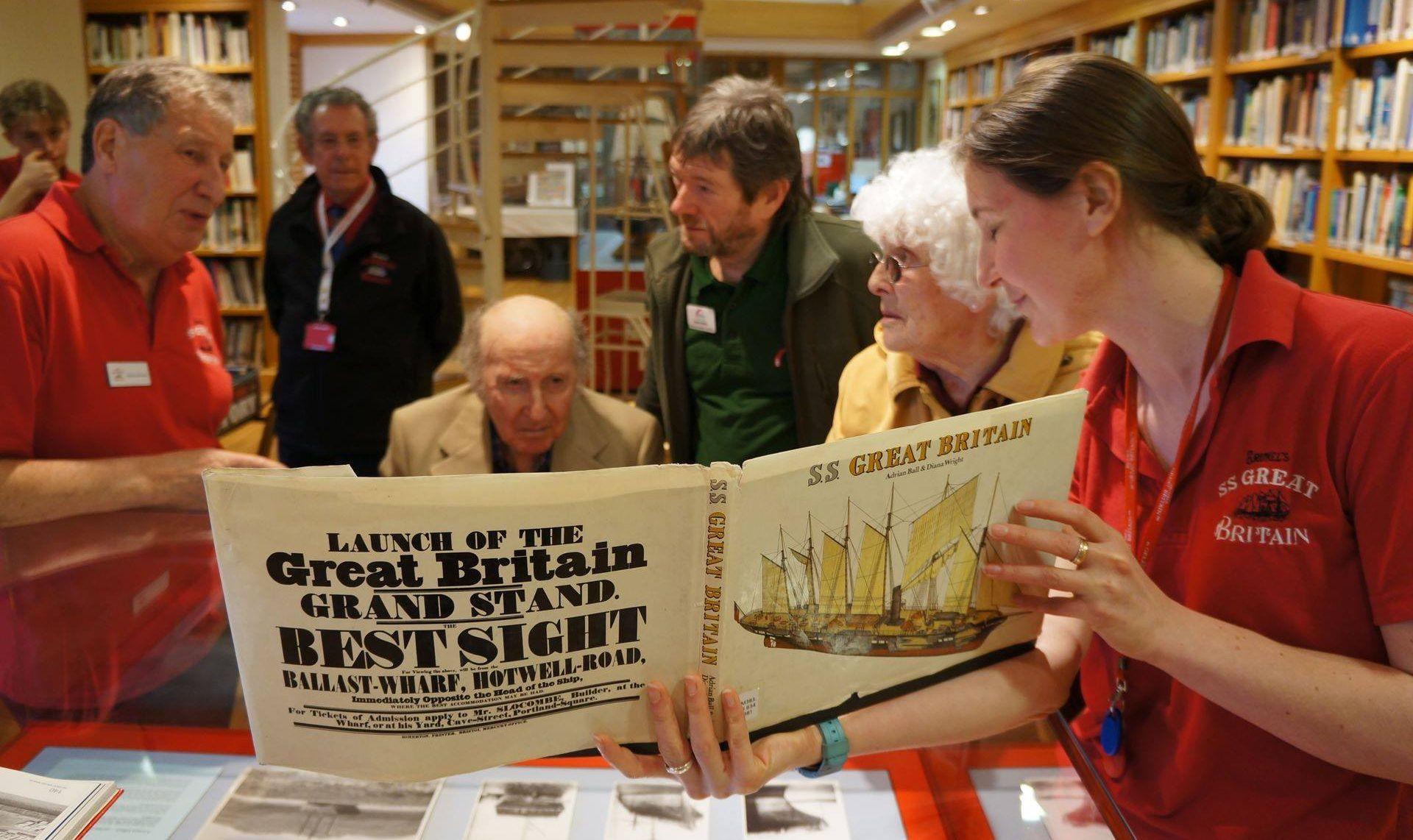 Before Covid, SS Great Britain ran interactive sessions with care homes and other partners
