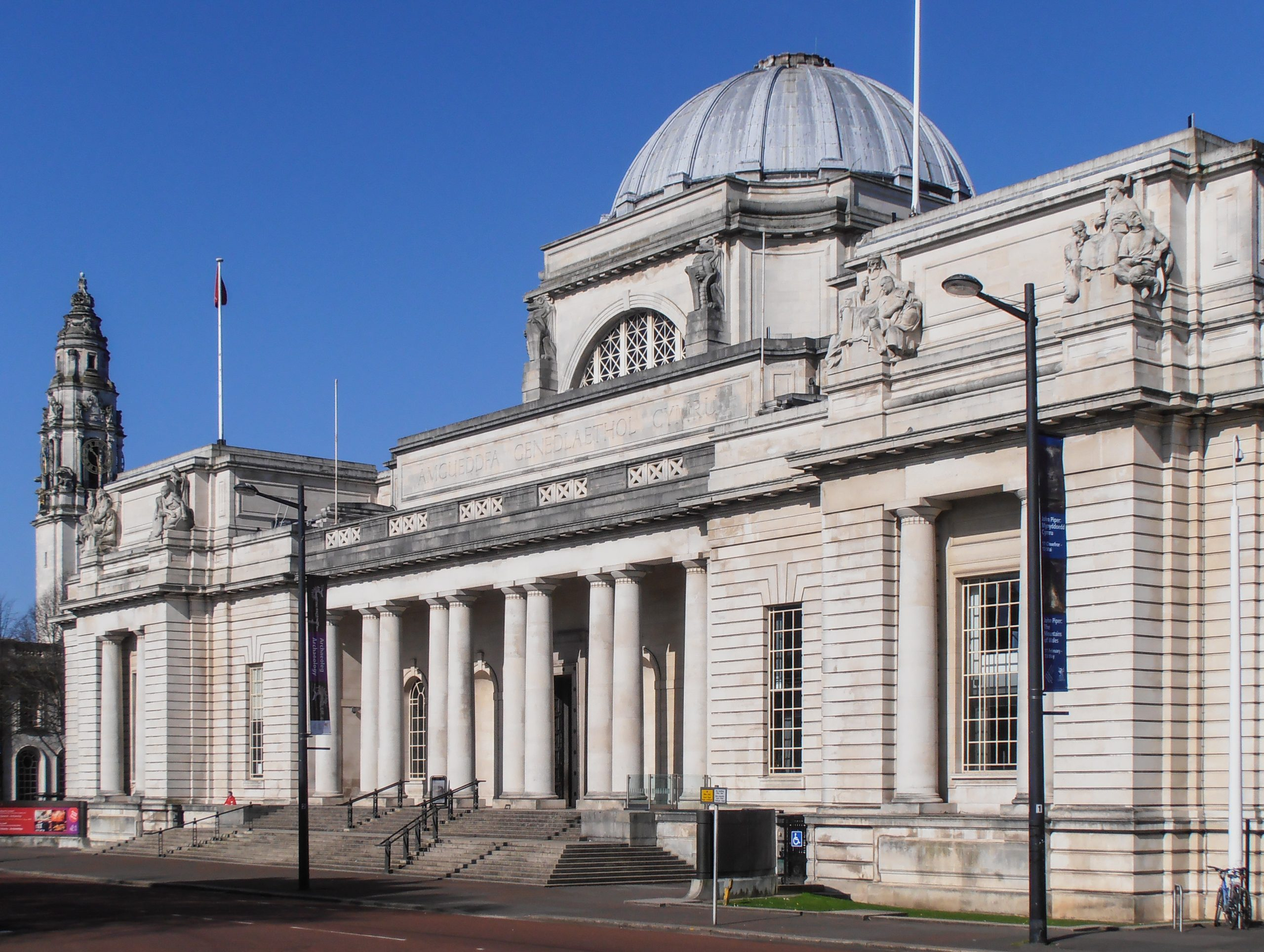 Amgueddfa Genedlaethol Caerdydd (National Museum Cardiff) is among the museums already closed due to lockdown restrictions