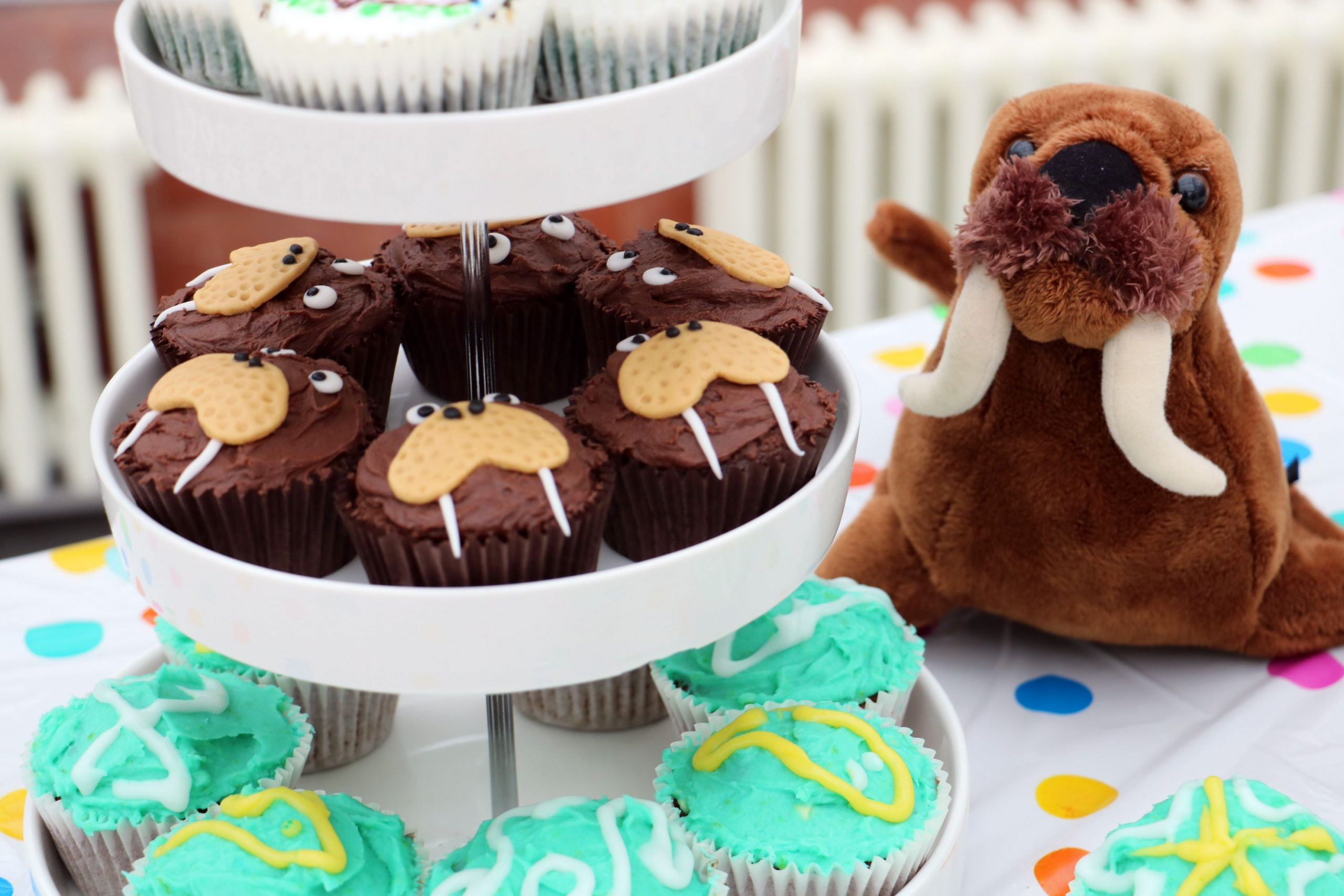 The Horniman Museum and Gardens in London held a virtual Great Walrus Tea Party online