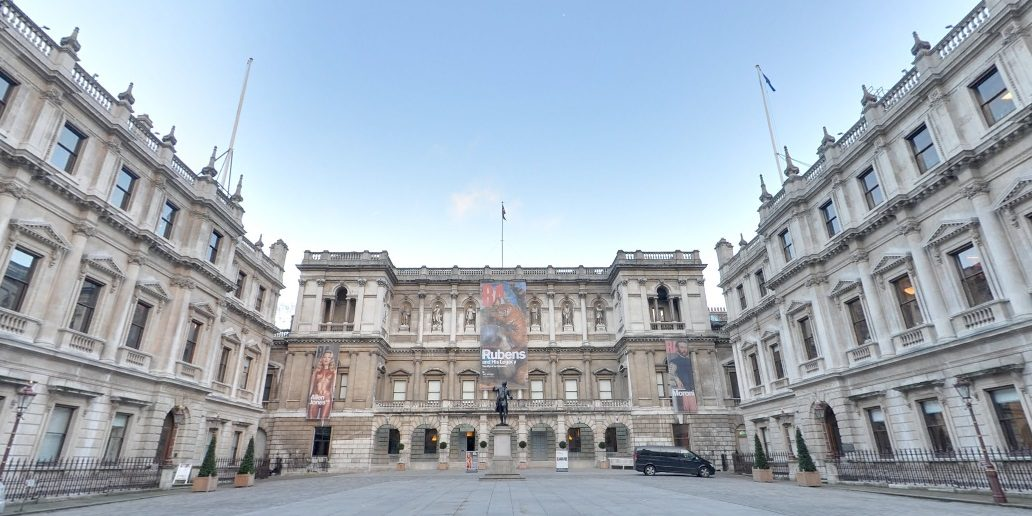 New Burlington House is home to five learned societies and the Royal Academy