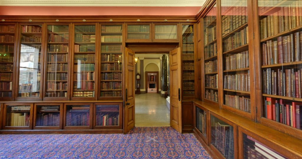 The library at the Society of Antiquaries