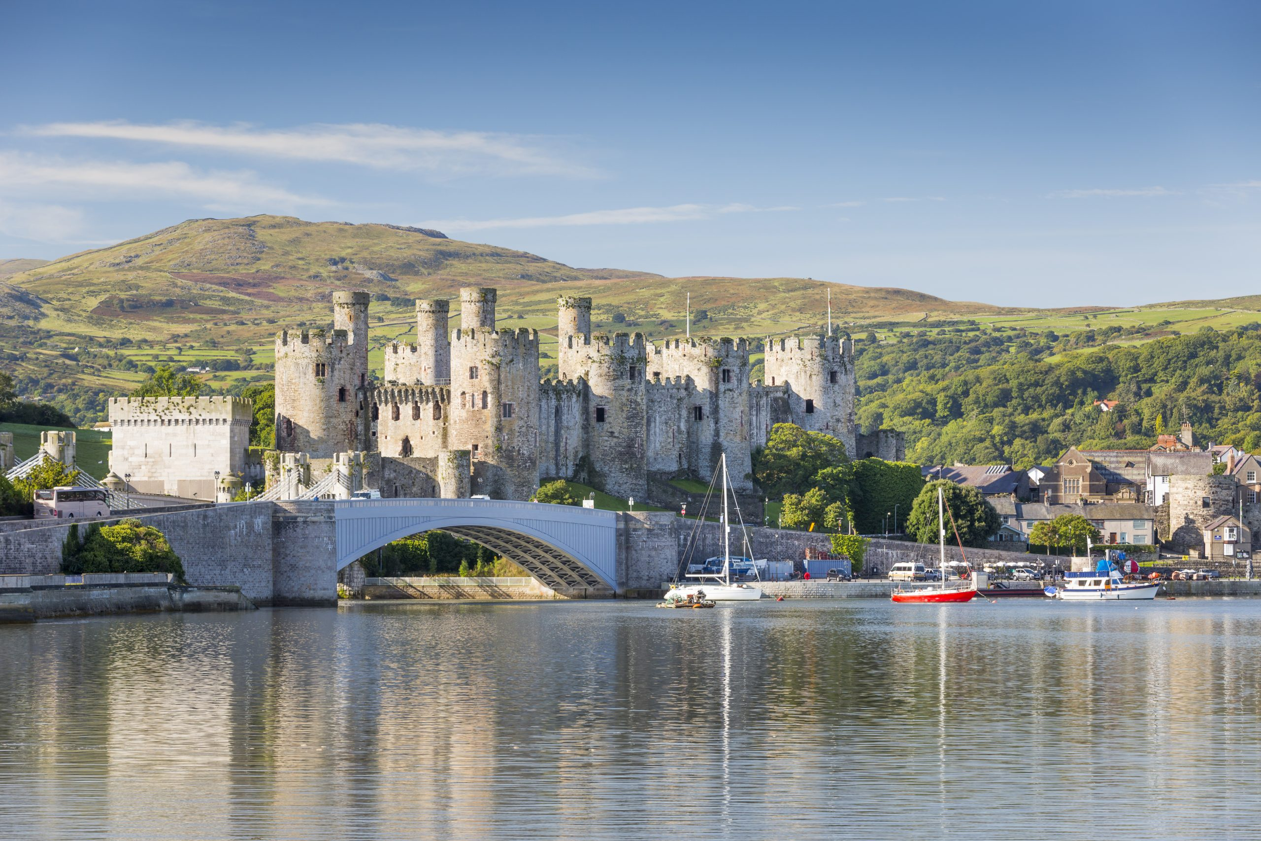 Heritage sites such as Conwy Castle will have to close their indoor spaces from 4 December