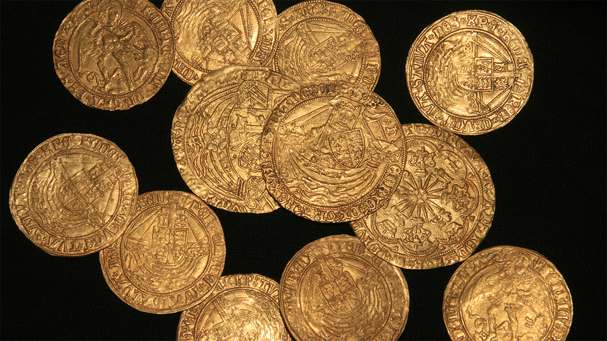 Tudor coins from the New Forest, Hampshire
