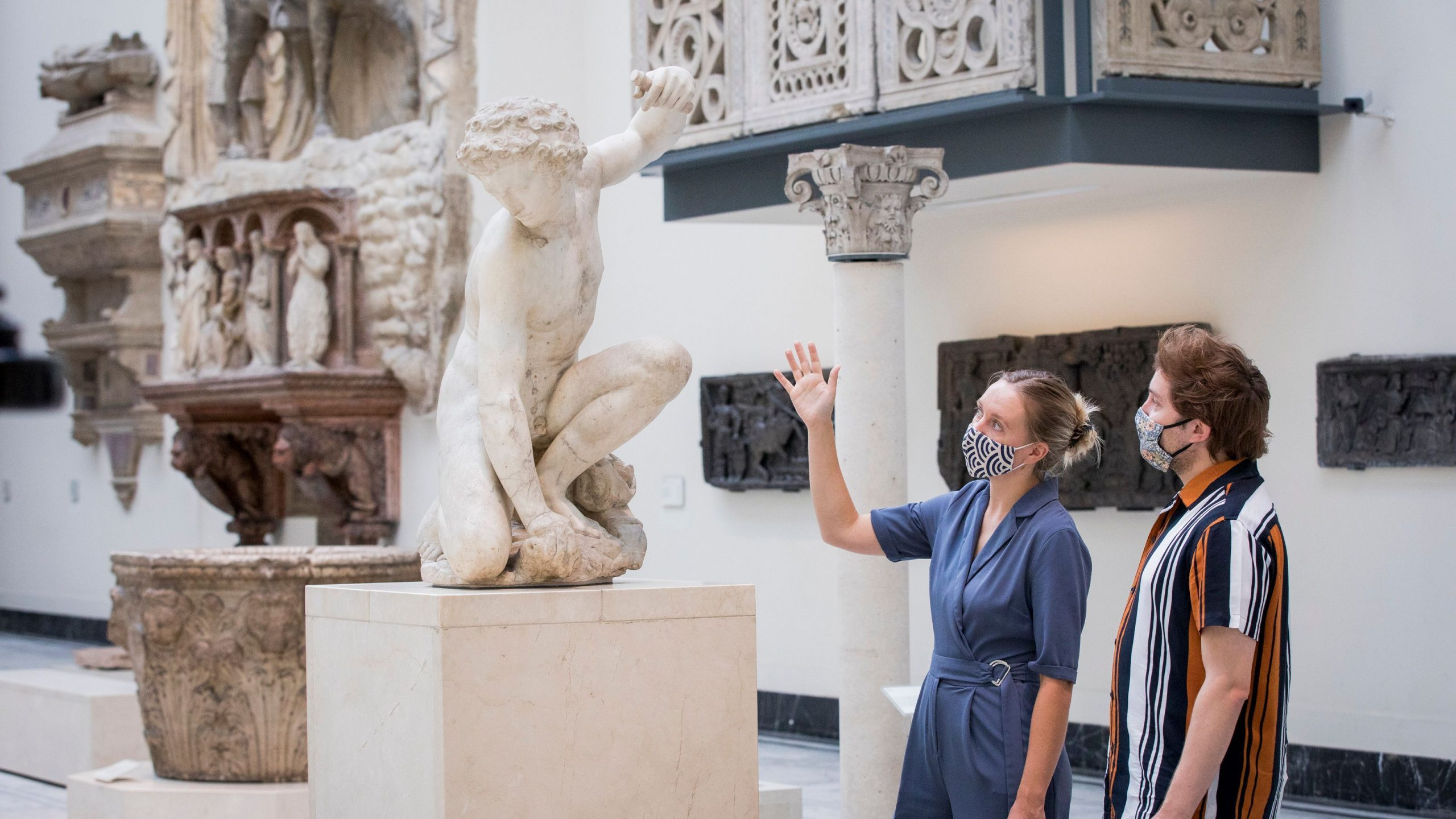 The V&A is among the museums that has had to close again this week