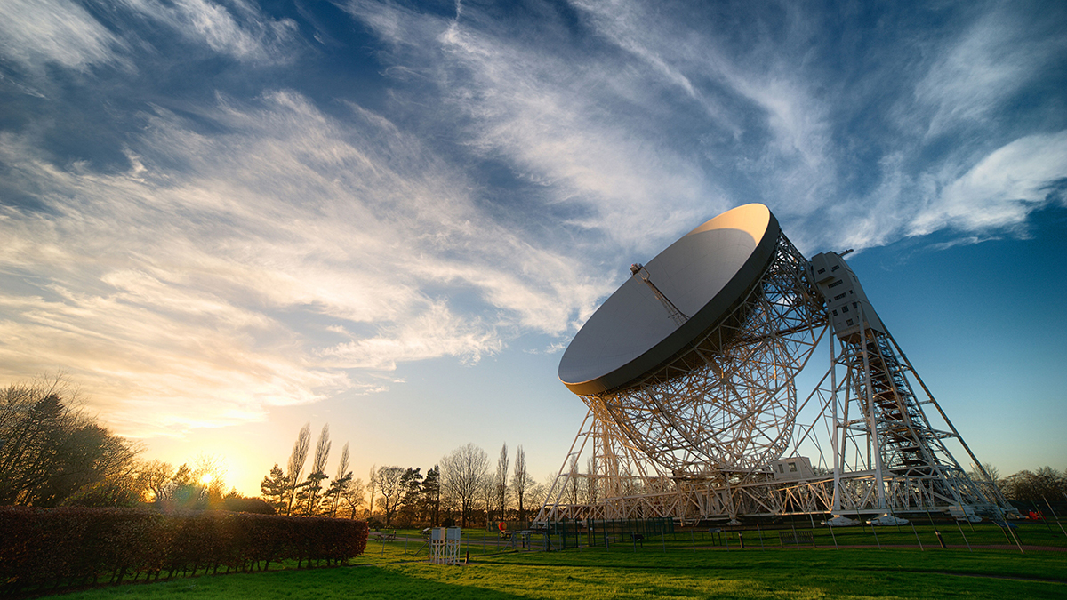 Jodrell Bank received a £125,600 grant from the Culture Recovery Fund