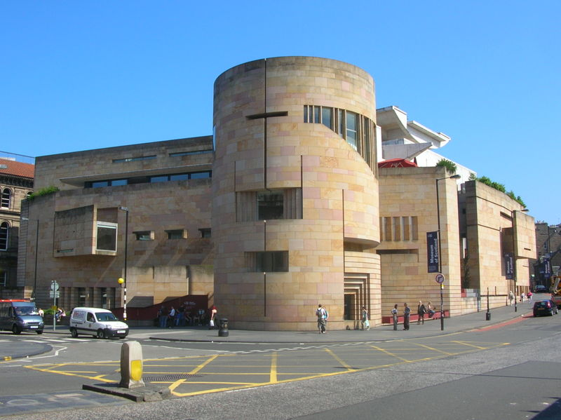 An image of the National Gallery of Scotland