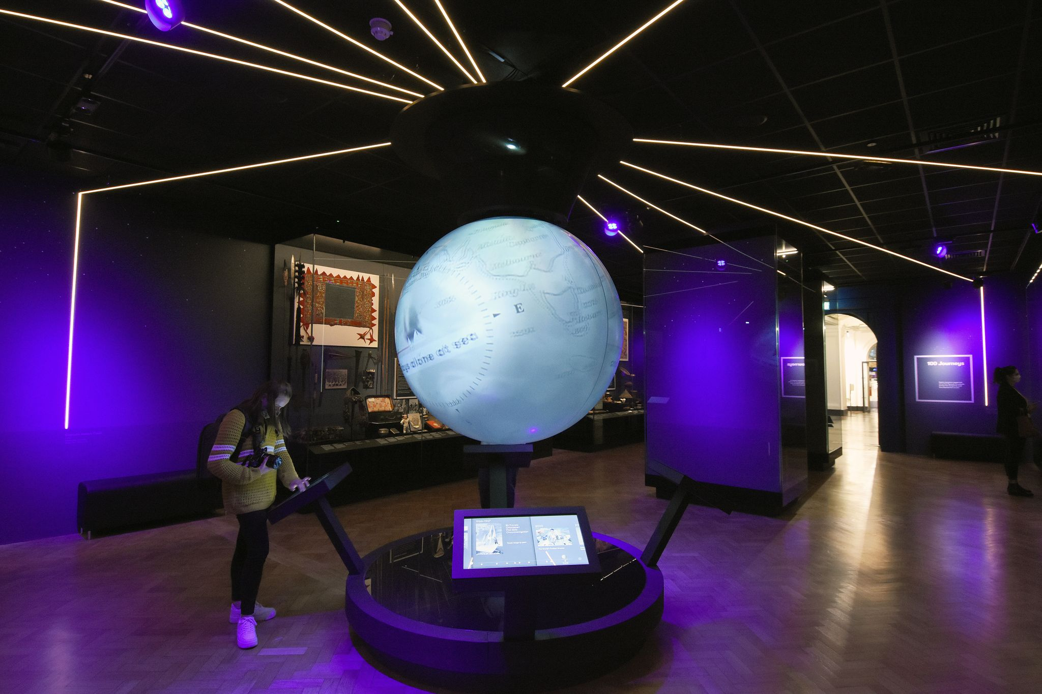 The 100 Journeys gallery and exhibition