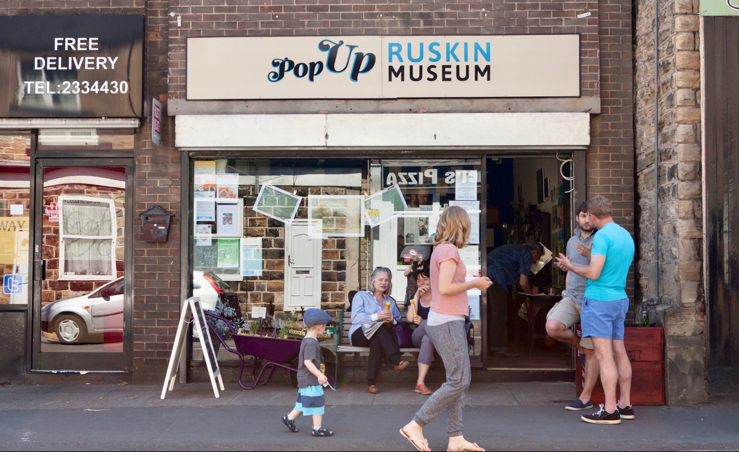 The pop-up Ruskin Museum in Sheffield