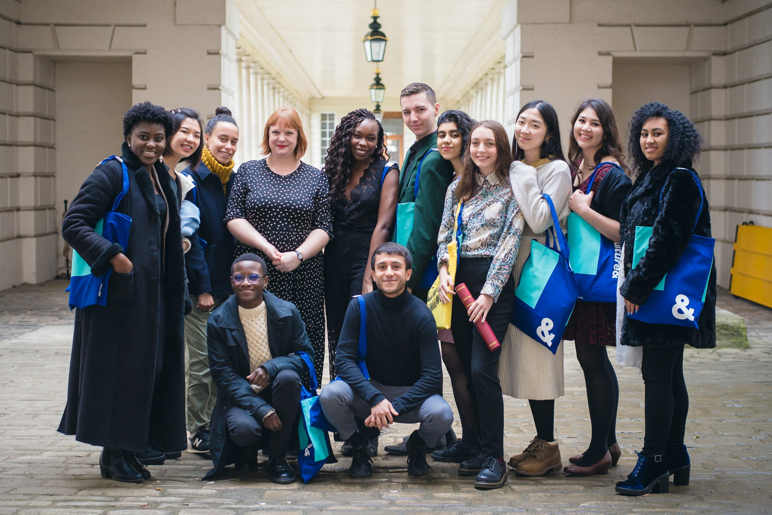 Recent graduates from the training programme developed by Culture&