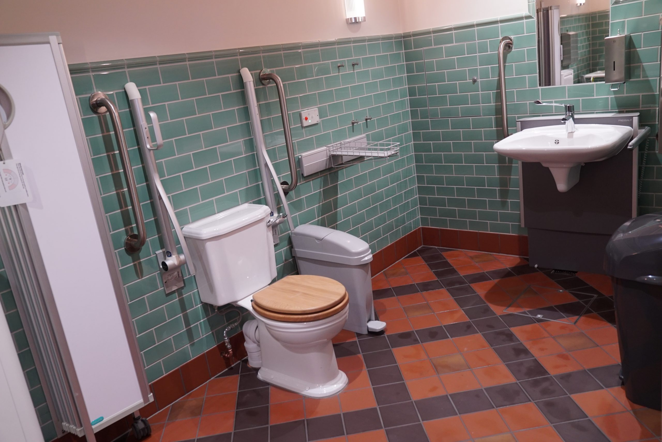 The new Changing Places toilet at the Tower of London