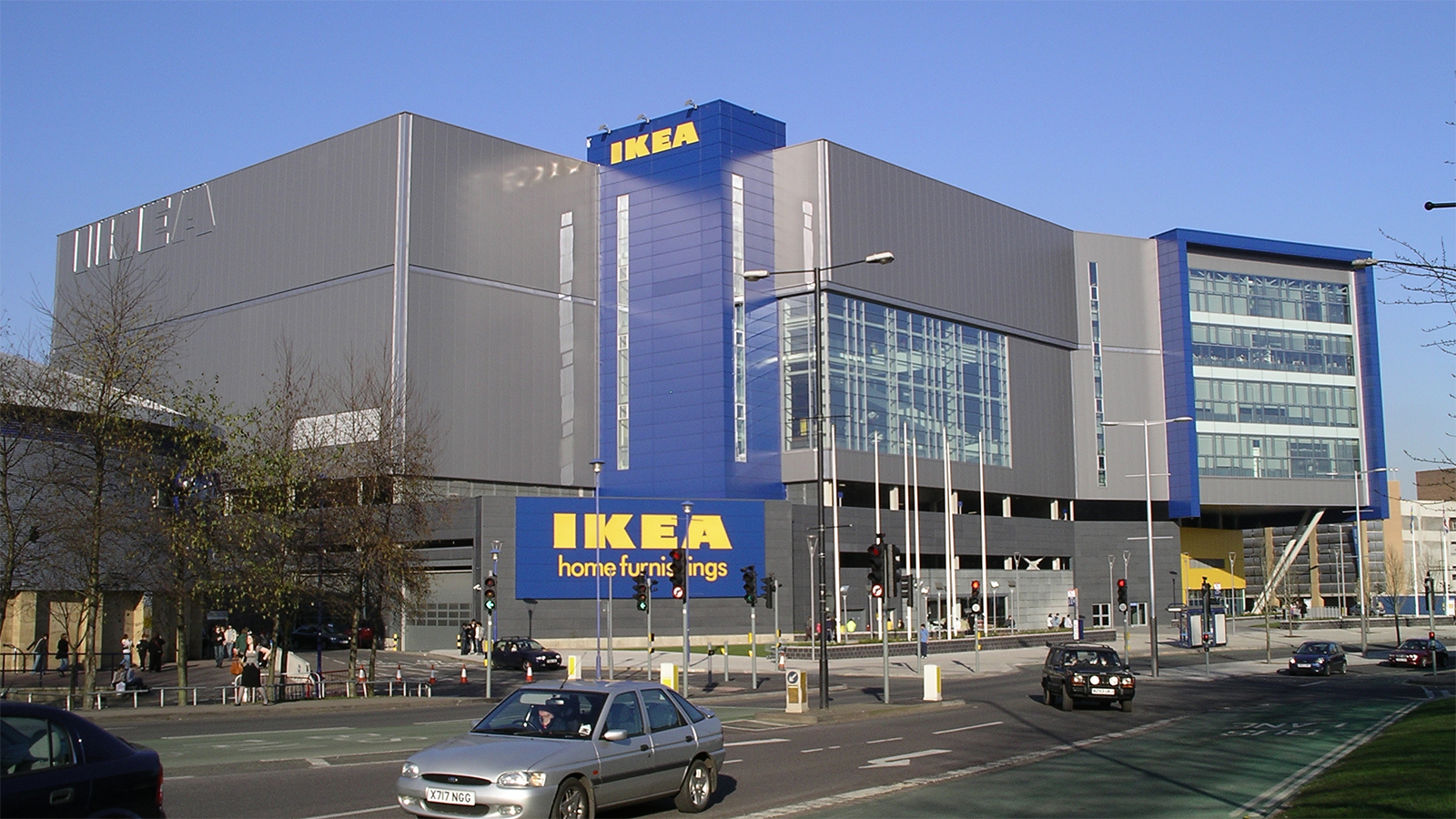 Coventry's IKEA prior to its closure in March 2020