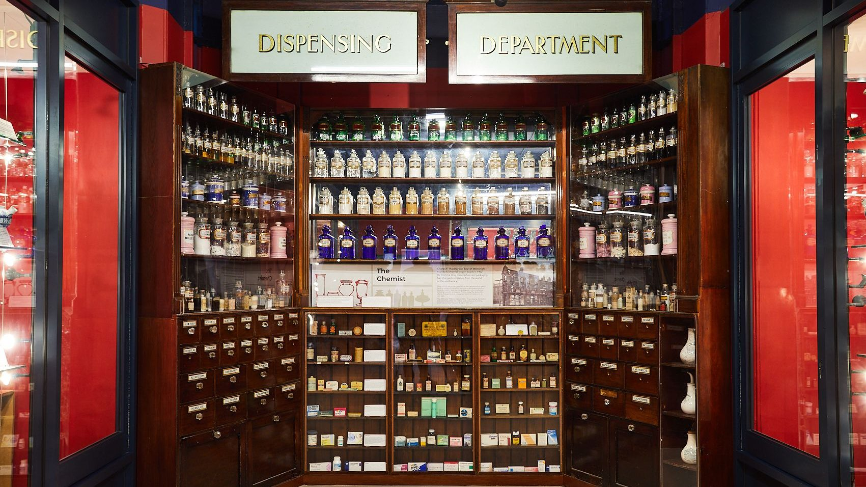 The Thackray Museum of Medicine has its origins in a small family-run chemist shop, opened in 1902 by Charles Thackray, in Great George Street, Leeds