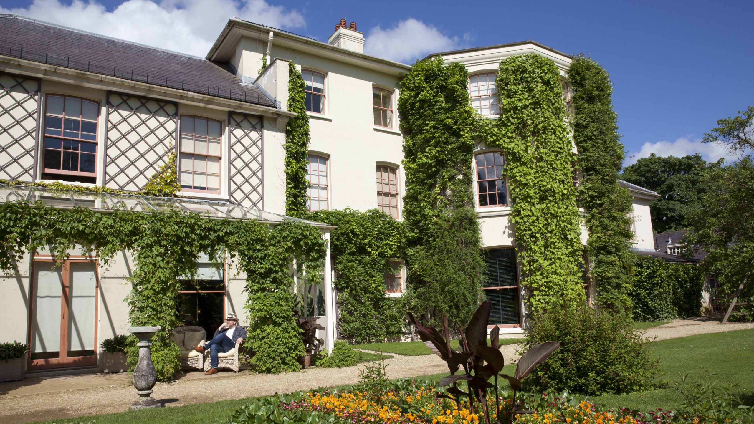 The gardens of the former home of Charles Darwin, Down House, are open