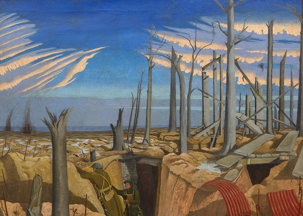 A painting by John Nash