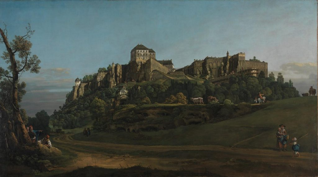 A painting by Bellotto