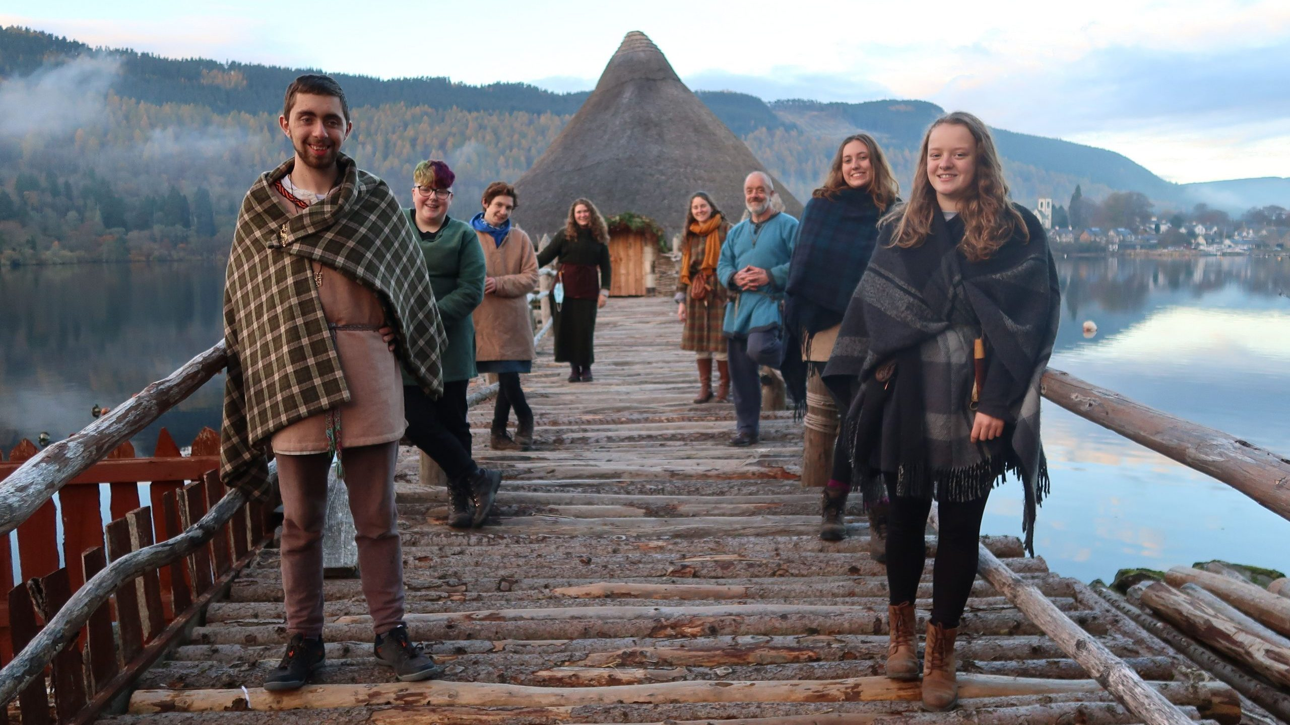 The Scottish Crannog Centre is reopening on 26 April