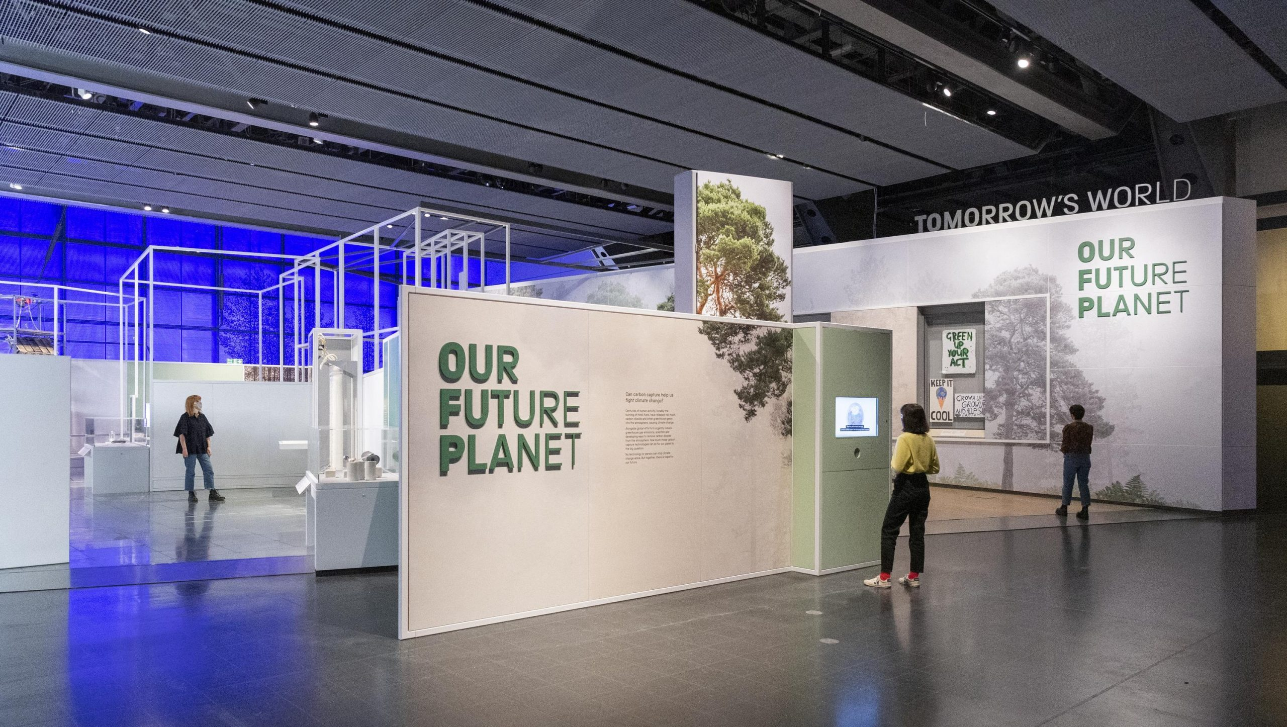 The Our Future Planet exhibition will open to the public next month
