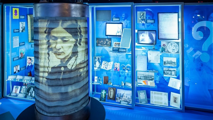 Some of the innovative displays inside the Florence Nightingale Museum