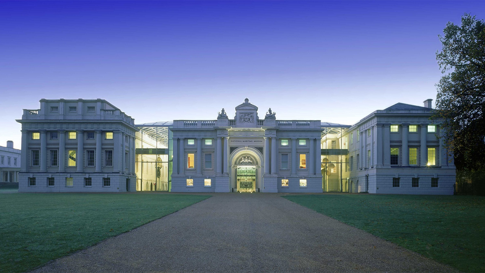 The National Maritime Museum in Greenwich