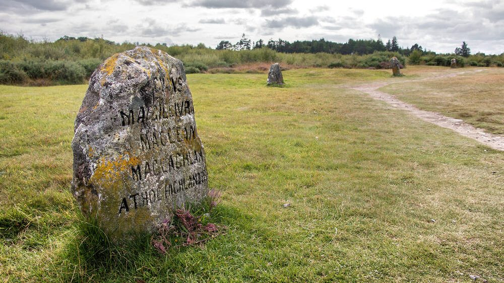 Footfall to outdoor sites like Culloden Battlefield fared better in 2020