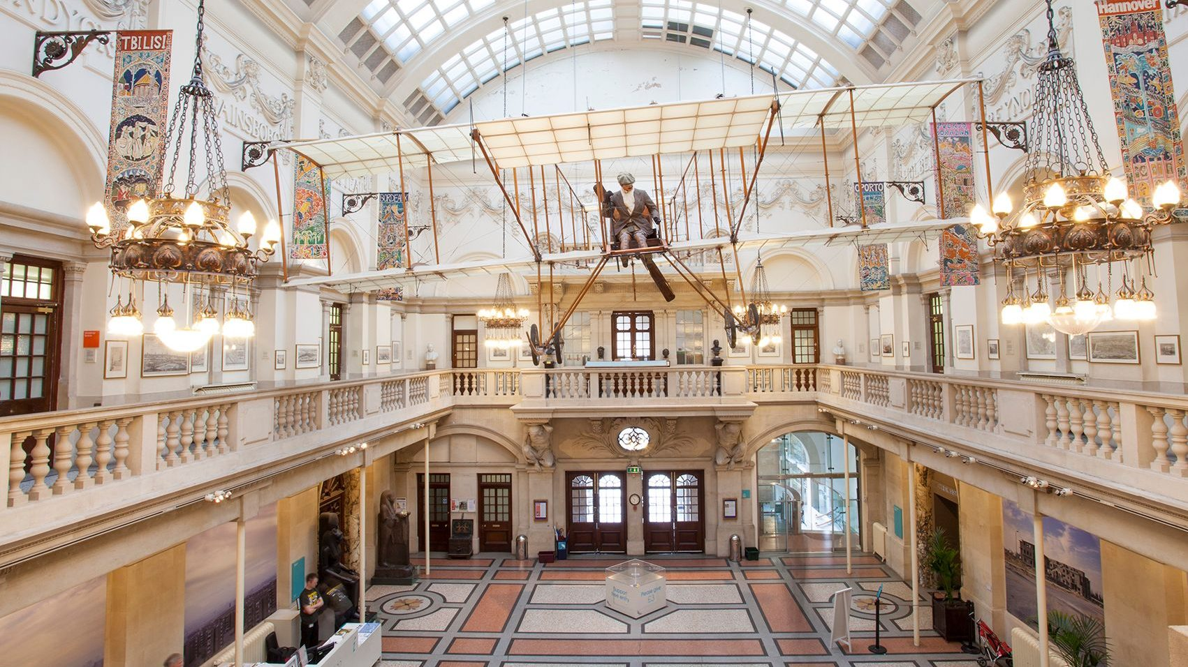 Bristol Museum and Art Gallery was left with a hefty repair bill after a sewage flood in 2019