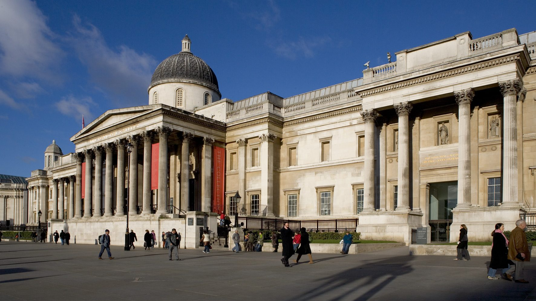 Hall has been chairman of the National Gallery since July 2020