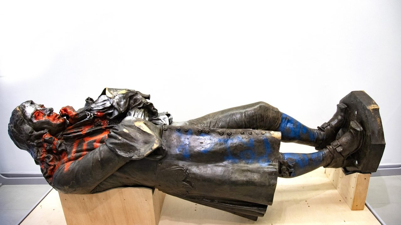 The statue is on display at M Shed until 5 September