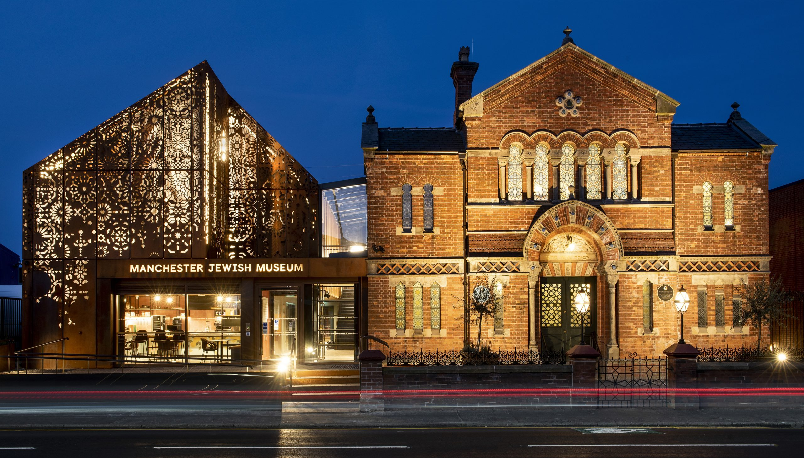 The £6m redevelopment includes a new extension and the restoration of the museum's former synagogue