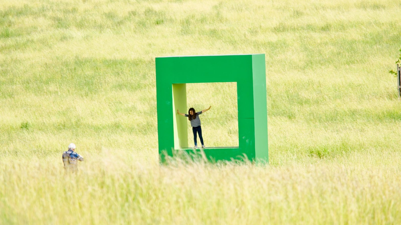Compton Verney has hosted Krijn de Koning's Green Dwellling installation throughout the pandemic