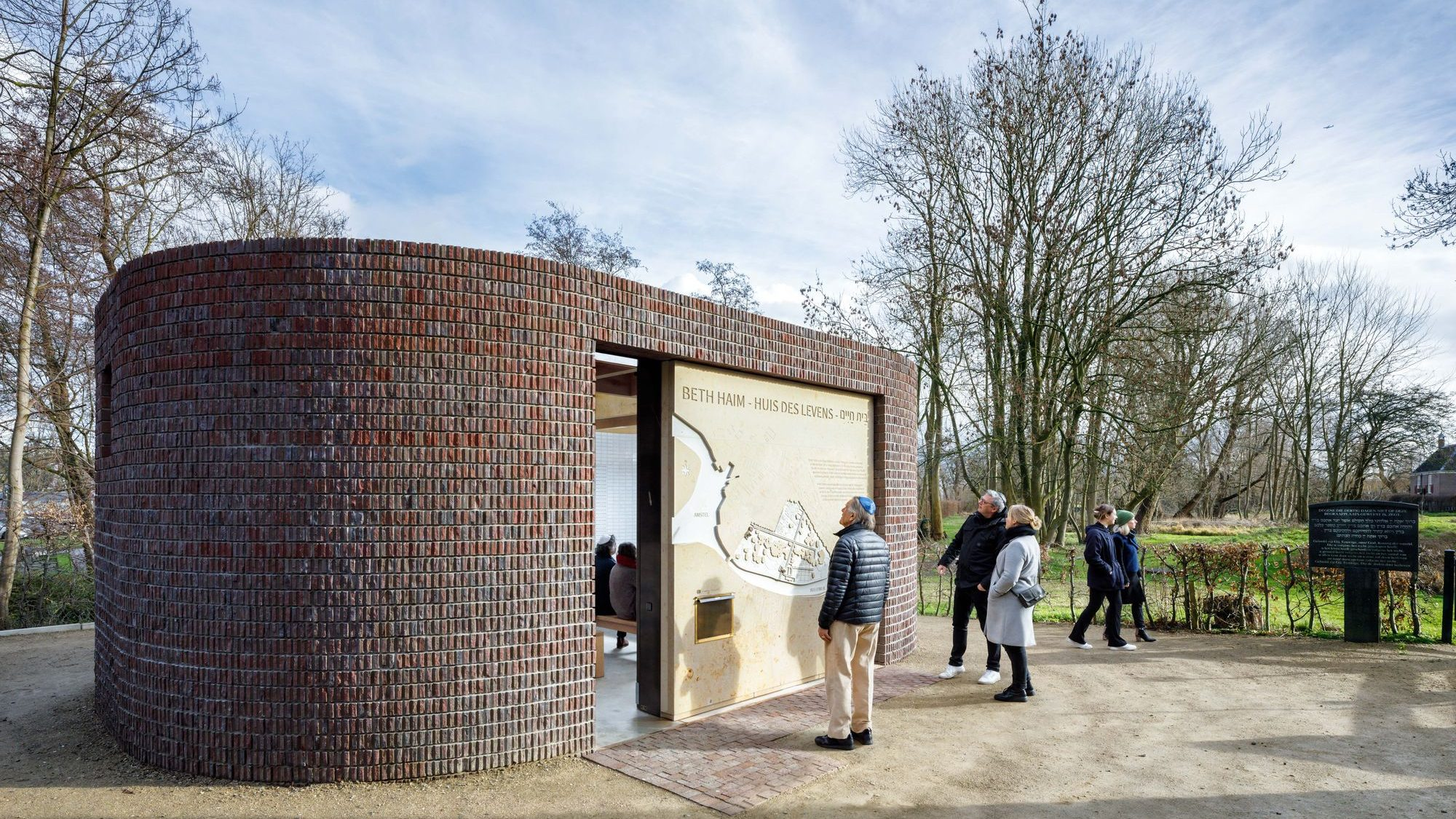 Beth Haim has been interpreted to make it more accessible to visitors
