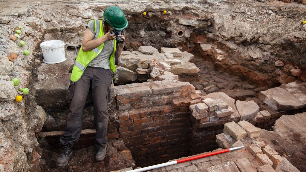Sheffield university's archaeology department was part of recent excavations at Sheffield Castle