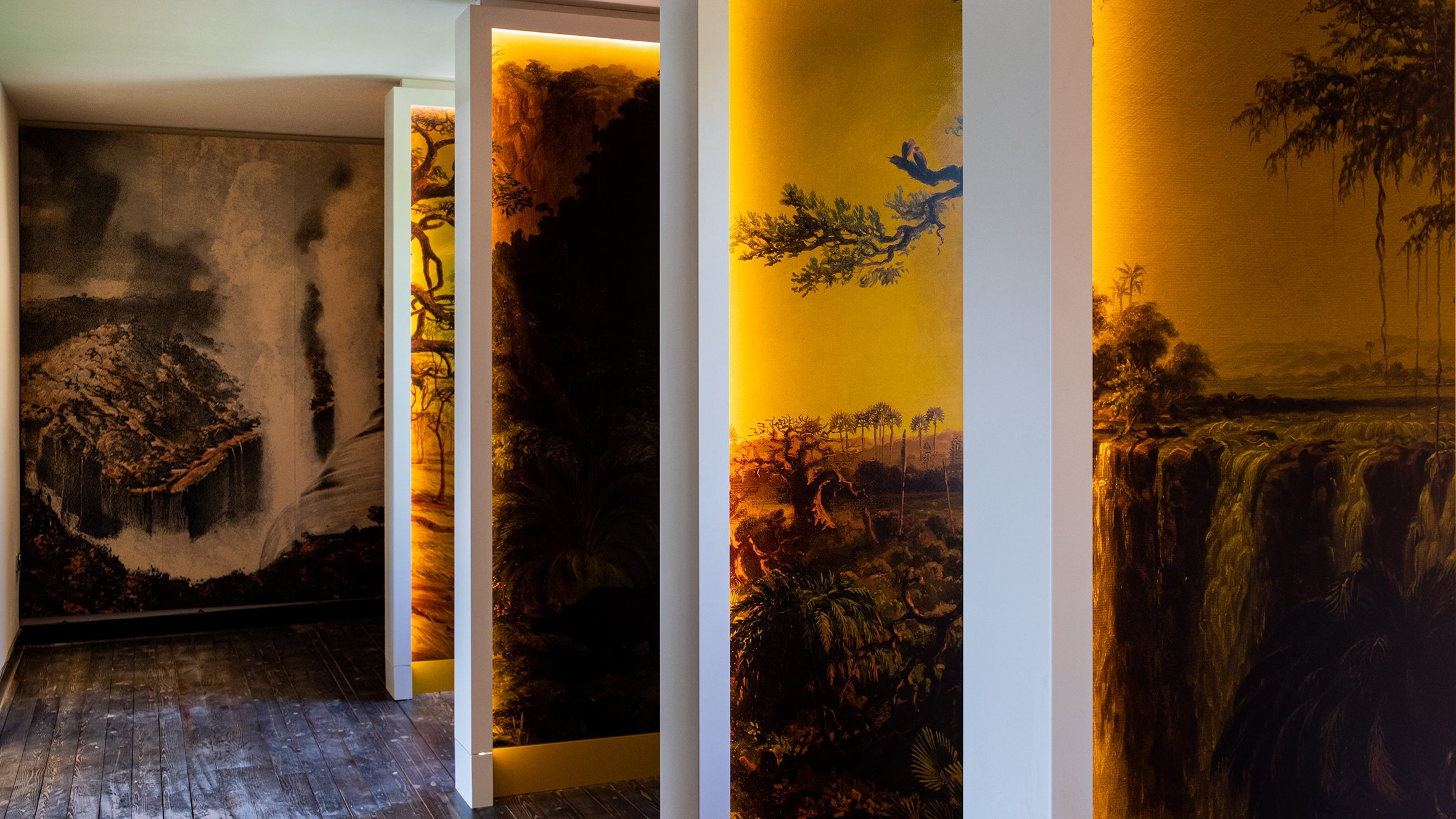 The Trans-Africa Expedition Room at the David Livingstone Birthplace Museum, Blantyre, South Lanarkshire