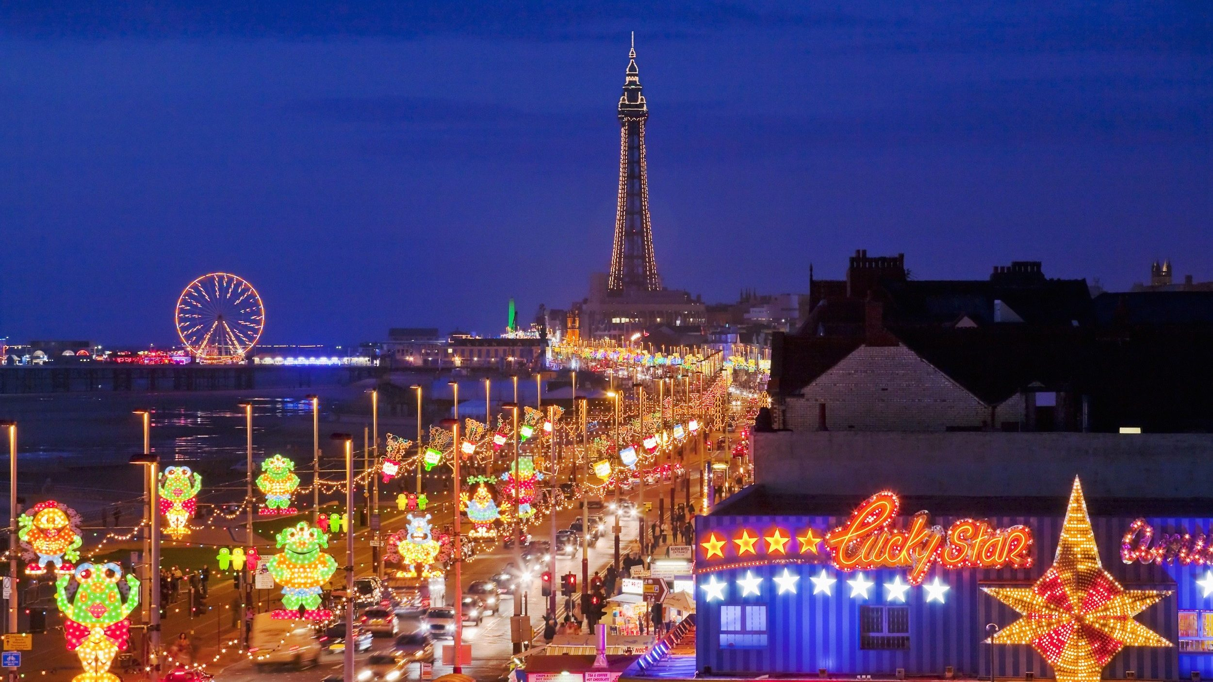 Blackpool is one of 54 priority places that will receive extra attention in the arts council delivery plan