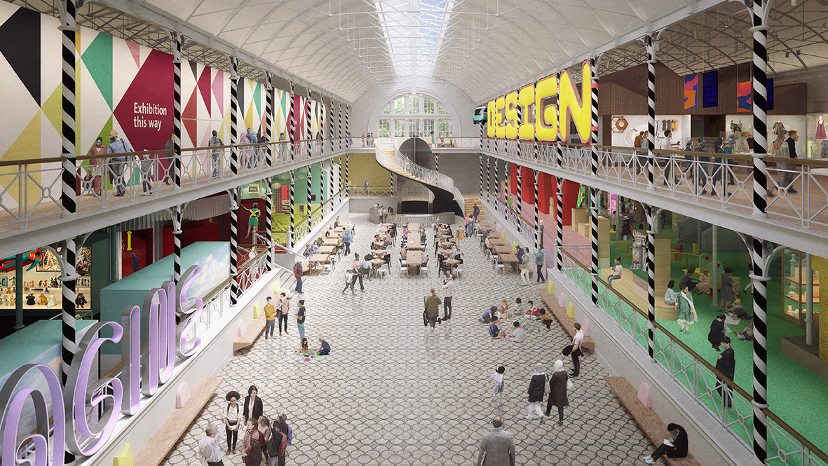 The £13m redevelopment of the Young V&A will be complete in 2023