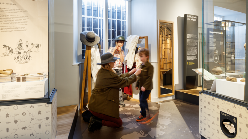 Ely Museum is undertaking a project to deliver re-imagined audience engagement activities to local families