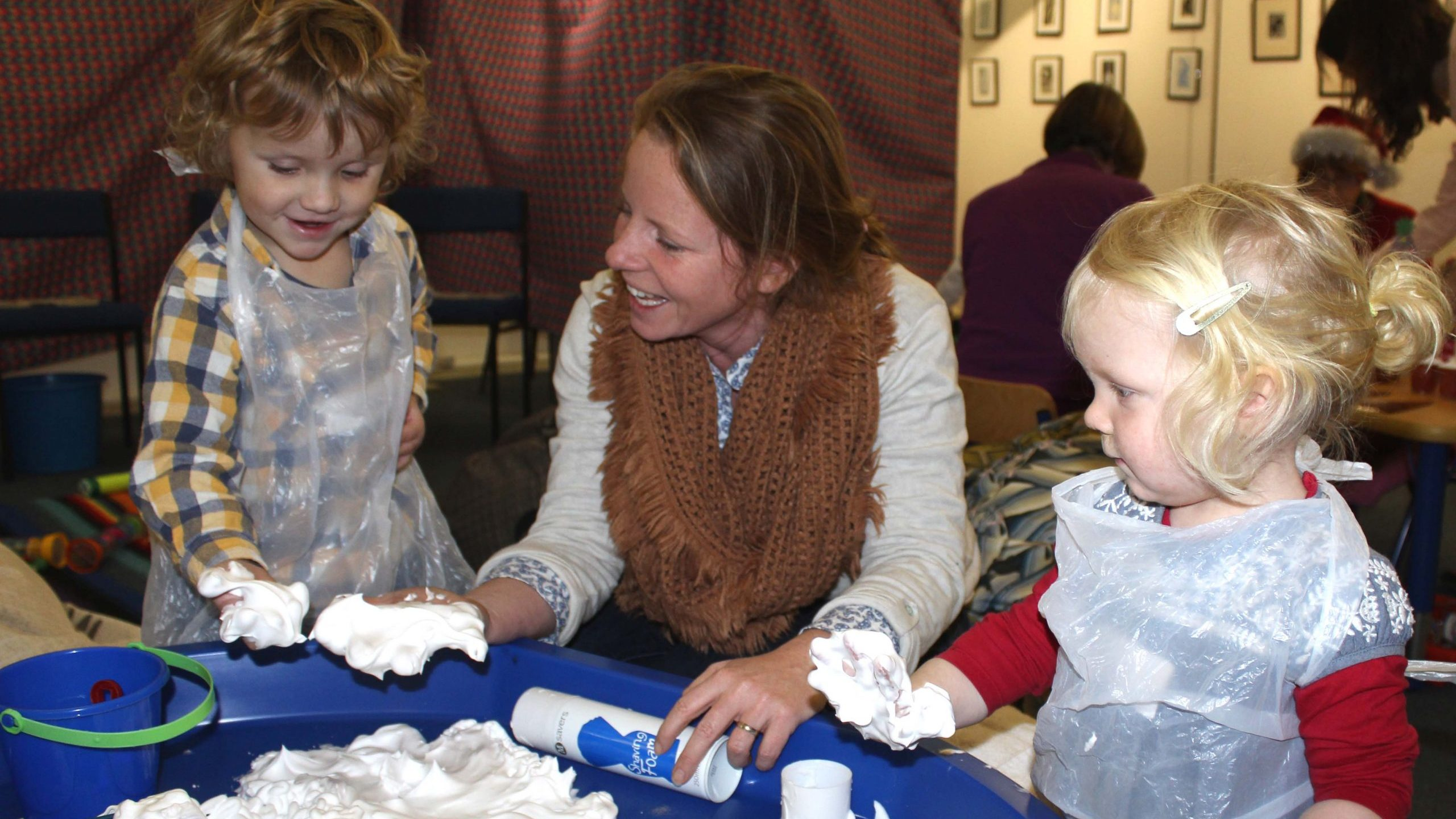 A Museum Tots session at Bailiffgate Museum